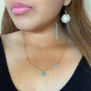 Dainty Evil Eye Necklace 🧿